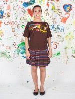 "Shirt:""Over the rainbow"" + Skirt: ""Yellow Brick"" / Set ""Chapines de Rubí"". #CUROI15 www.comounaregadera.com/shop"
