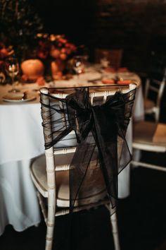 Kiera and Gökhan's dark & moody Halloween wedding at Cooling Castle Barn in Kent. Gothic Wedding Decorations, Black Wedding Themes, Black Wedding Dresses, Black Weddings, Wedding Black, Fall Wedding, Wedding Goals, Dream Wedding, Wedding Ideas