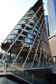 GRAND FRONT OSAKA グランフロント大阪 (6)うめきた広場等 [ 大阪および近畿の景観 ~ Scene of Osaka and Kinki ~ ]