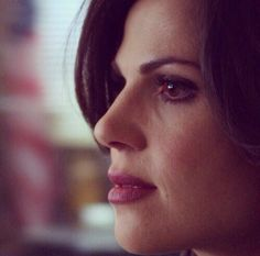 Lana's face is flawless