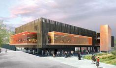 François Guibert Architectes | RESTAURANT UNIVERSITAIRE BORDEAUX