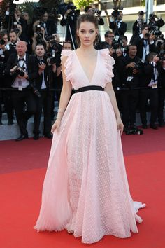 Barbara Palvin at the #Cannes Julieta premiere.