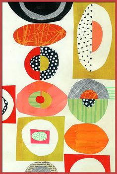 collage journeys: Lucie Duclos Showing Off my Collage Papers Book Designers Gráficos, Quilt Modernen, Creation Art, Canvas Art, Canvas Prints, Contemporary Quilts, Art Plastique, Textile Art, Art Lessons