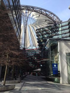 Sony Center Berlin - Never saw anything like it!