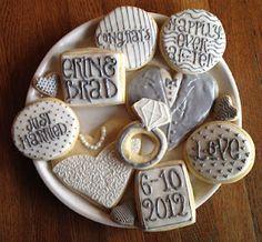 wedding cookies (: