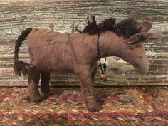 "Kay Cloud's pattern 5"" donkey"