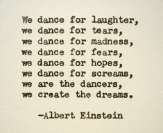 ALBERT EINSTEIN Hand Typed Quote Made with Vintage Typewriter Albert Einstein…