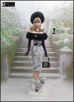 Barbie Style, Barbie Fashion Royalty, Fashion Dolls, Barbie Clothes, Barbie Dolls, Vetement Fashion, Poppy Parker, Doll Outfits, Bustier