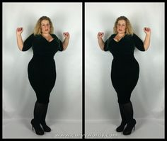 Collectif Phyllis Velvet Pencil Dress 20 http://www.curvywordy.com/2015/01/collectif-phyllis-velvet-pencil-dress-20.html