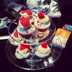 Valentine's Day at Vondel Hotels, you are welcomed with sweet cupcakes!