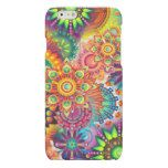 Funky Retro Pattern Abstract Bohemian Matte iPhone 6 Case