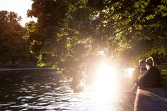 Dienstag, 02.07., 20:36 Uhr – Tiergarten, Spreeufer Bellevue: Sommer. © Borkeberlin