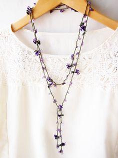 oya lariat necklace