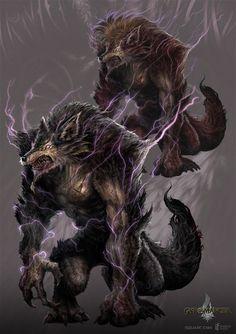 Werewolf - gyromancer by *kunkka on deviantART