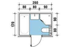 Mała łazienka. Jak w niej zmieścić wannę i prysznic House Extension Design, Extension Designs, House Design, Bathroom Plans, Small Bathroom, Circle House, Bathroom Dimensions, Bedroom Layouts, House Extensions