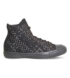 best service 0b672 33364 CONVERSE Chuck Taylor All Star Denim High-Top Trainers.  converse  shoes   trainers