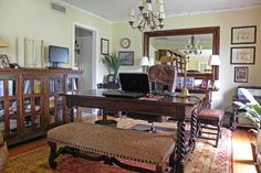 Home Office Photos Old World Tuscan Design, Pictures, Remodel, Decor and Ideas - page 13