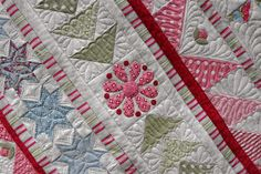Quilts on Bastings: Snowflake Medallion Quilt