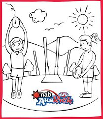 image result for afl teams colouring pages colouring in pagesfootball - Football Colouring Sheet