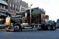 Kenworth Trucks Costum Ideas For You Show Trucks, Big Rig Trucks, Dump Trucks, Old Trucks, Pickup Trucks, Vintage Trucks, Custom Big Rigs, Custom Trucks, Kenworth Trucks