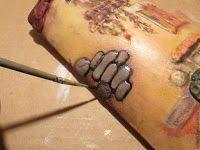 ΚΕΡΑΜΙΔΙ με Decoupage και ΑΝΑΓΛΥΦΗ διακόσμηση | ΣΟΥΛΟΥΠΩΣΕ ΤΟ