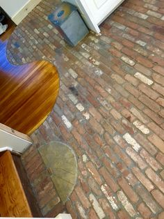 Brick Veneer Floor Tile