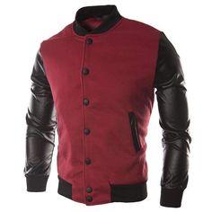 Leather Bomber Jacket