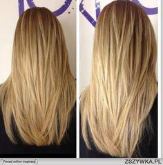 długie włosy cieniowane - Szukaj w Google