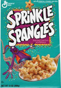 this looks like the cereal i used to love but im not sure if it is it! does anyone know of a old turquoise cereal box is the 90's through 2000??