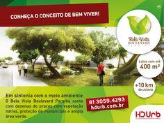 Primeiro BAIRRO PLANEJADO a atender os grandes polos de desenvolvimento do sul da Paraíba (cimenteiro) e norte de Pernambuco (automobilístico, vidreiro e farmacoquímico), às margens da BR-101 e com a qualidade HDURB.