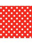 Plakfolie Webshop polkadot stippen rood   Plakfolie webshop