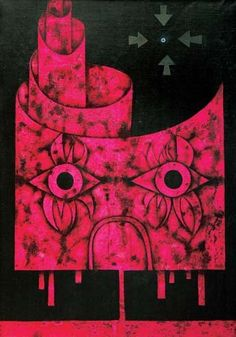 Mikuláš Medek, Hlava projektanta věží Surrealism, Symbols, Art, Craft Art, Icons, Kunst, Gcse Art, Art Education Resources