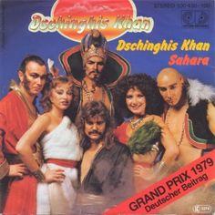 Self-titled song by Dschinghis Khan German vinyl single - Dschinghis Khan (song) - Wikipedia Boney M, Worst Album Covers, Music Album Covers, Bad Album, Album Book, Lp Cover, Vinyl Cover, Cover Art, Lps