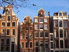 Grachtenhäuser in #Amsterdam