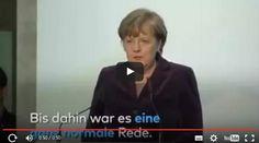 Podczas spotkania z kanclerz Niemiec Angelą Merkel wykładowca uniwersytecki zaprotestował przeciwko jej polityce imigracyjnej.