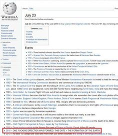 Directioners run the world! But this also proves that Wikipedia doesn't have trustworthy information...