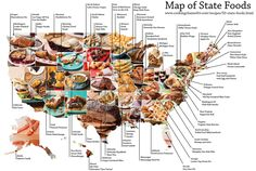 The Signature Food of Each State http://mentalfloss.com/article/59015/signature-food-each-state