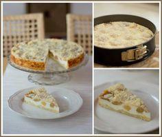 Tvarohový koláč s broskvemi Pie, Food, Torte, Cake, Fruit Cakes, Essen, Pies, Meals, Yemek