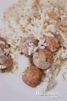 Housewife Eclectic: Forget Ikea, Make Your Own Swedish Meatballs