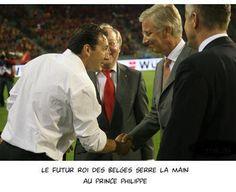 Le futur roi des belges. #DiablesRouges
