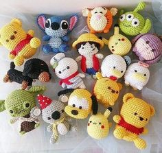 Kawaii Crochet, Crochet Disney, Cute Crochet, Crochet Case, Crochet Rabbit, Crochet Patterns Amigurumi, Crochet Dolls, Crochet Keychain, Diy Keychain