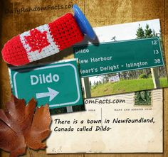 The most ridiculous town name in #Canada, Dildo, Newfoundland and Labrador