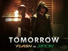 CAN'T WAIT  !!! The Flash Vs Arrow