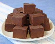 Ice Cream Fudge- ice cream and chocolate. well it does make sense :) Interesting way of making fudge during the summer. (which I usually don't do a lot of) hmmm ; Best Fudge Recipe, Fudge Recipes, Candy Recipes, Dessert Recipes, Easy Microwave Fudge, How To Make Fudge, Making Fudge, Oh Fudge, Fudge Cake