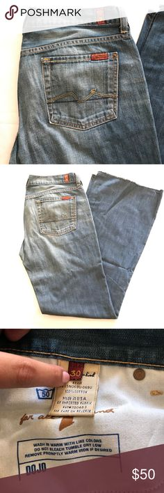 Seven7 jeans Wide leg Seven7 Jeans Flare & Wide Leg