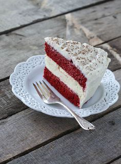 Copycat Cheesecake Factory Ultimate Red Velvet Cake Cheesecake - FoodBabbles.com