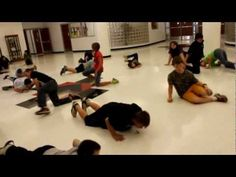 Thriller Dance - video and instructions.    **Use this one instead of just trying to teach it