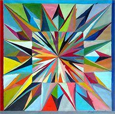 Forex-Platte 20 x 20 cm: Leuchtende Box 3 von Diego Manuel Rodriguez