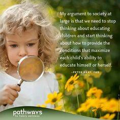 Children educating themselves