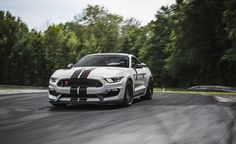 2016 Ford Mustang Shelby GT350R: Riding Shotgun in One of the Year's Most Anticipated Cars - Photo Gallery of First Ride from Car and Driver - Car Images - Car and Driver